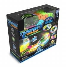 Twister Tracks Neon Glow Race Series