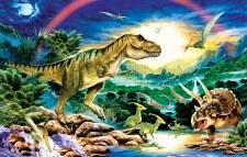 Sunsout 100pc Tyrannosaur