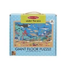Melissa & Doug Giant Floor Puzzle 35pc Under The Sea