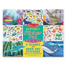 Melissa & Doug Reusable Stickers Under The Sea