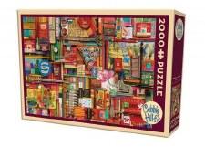 Cobble Hill 2000pc Vintage Art Supplies