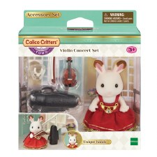 Calico Critters Violin Concert Set
