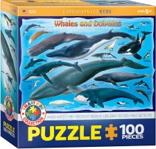 Eurographics 100pc Whales & Dolphins