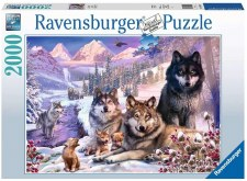 Ravensburger 2000 Pc Wolves In Snow