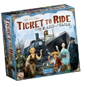 Ticket To Ride Rails & Sails