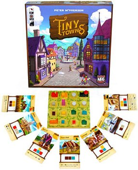 Tiny Towns Aeg Games