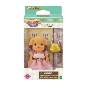 Calico Critters Town Girl Toy Poodle Laura