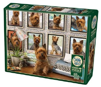 Cobble Hill 1000pc Yorkies Are My Type
