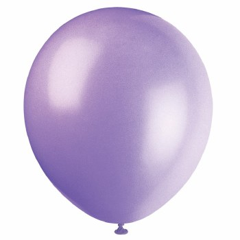 "12"" Balloons, 10ct- Lavender"