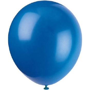 """12"""" Balloons, 10ct- Royal Blue"""