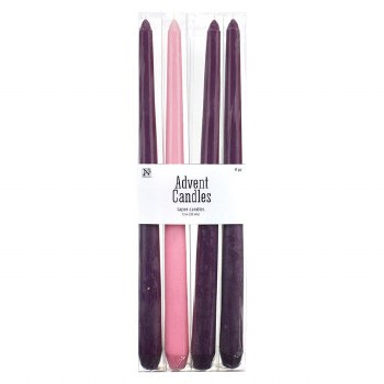 """12"""" Advent Candle 4pk"""