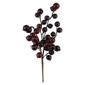 "12"" Crabapple Pick- Burgundy"