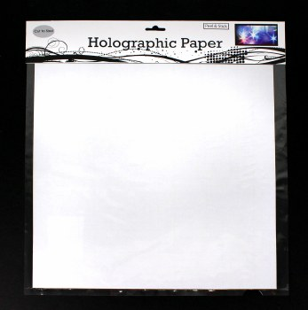 """Holographic Paper- 12"""""""