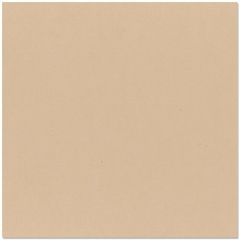 12x12 Brown Smooth Cardstock- Almond Cream