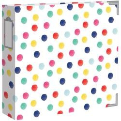 Project Life 12x12 D Ring Album- Better Together Dots