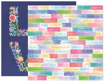 Bloom Street 12x12 Paper- 13