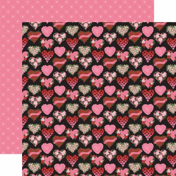 Be My Valentine 12x12 Paper- Box of Chocolates