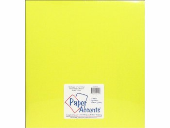 12x12 Removeable Matte Vinyl- Bright Yellow