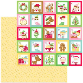 Christmas Magic 12x12 Paper- Christmas Magic