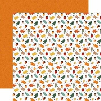 Happy Fall 12x12 Paper- Cool Breeze