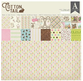"""Cottontail Paper Pad, 12x12"""""""