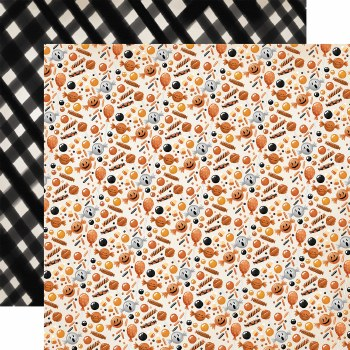 Halloween Market 12x12 Paper- Creepy Candies