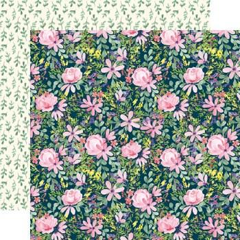 Botanical Garden 12x12 Paper- Daisy Corsage