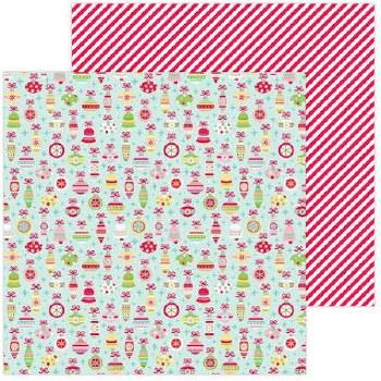 Christmas Magic 12x12 Paper- Deck the Halls