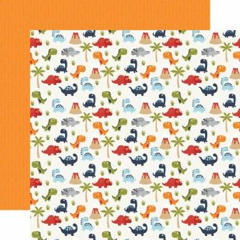 All Boy 12x12 Paper- Dino-Mite