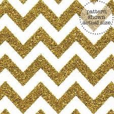 Doodlebug 12x12 Sugar Coated Chevron Cardstock- Gold