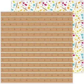 School Days Doodlebug 12x12 Paper- Good Measure