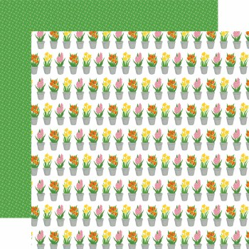 I Love Spring 12x12 Paper- Greenhosue Gifts