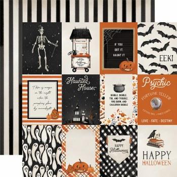 Halloween Market 12x12 Paper- 3x4 Cards