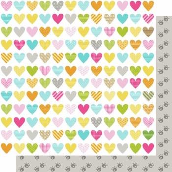 Chloe 12x12 Paper- Heart Warmer
