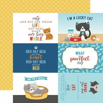 I Love My Cat 12x12 Paper- 4x6 Cards