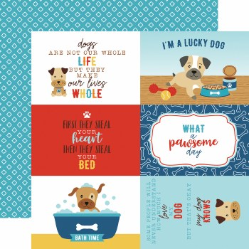 I Love My Dog 12x12 Paper- 4x6 Cards