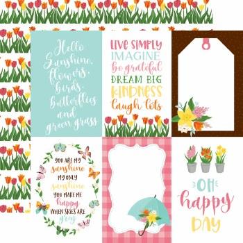 I Love Spring 12x12 Paper- 4x6 Cards