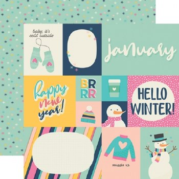 Best Year Ever 12x12 Paper- January