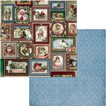 Christmas Treasures 12x12 Paper- Joyful