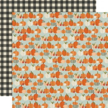 Fall Farmhouse 12x12 Paper- Lil' Pumpkin
