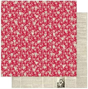Authentique Love Notes 12x12 Paper- 1