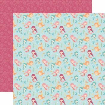 All Girl 12x12 Paper- Magical Mermaids