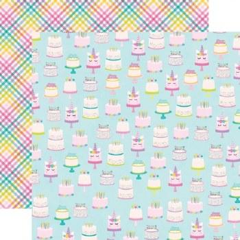 Cake Day 12x12 Paper- Make a Wish