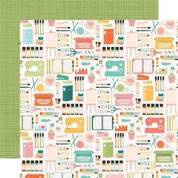 Hey Crafty Girl 12x12 Paper- Makers Gonna Make