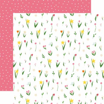 I Love Spring 12x12 Paper- May Flowers