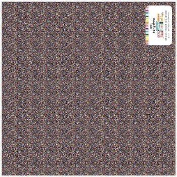 Amy Tangerine Slice of Life 12x12 Specialty Paper- Multi Colored Dots