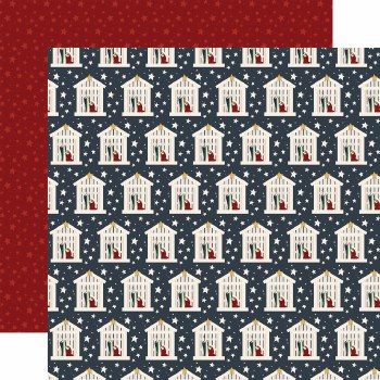 Away in a Manger 12x12 Paper- Nativity
