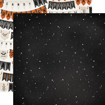 Halloween Market 12x12 Paper- Night Sky