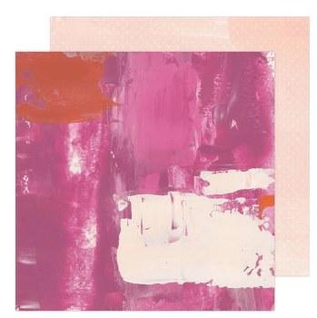 Art Walk 12x12 Paper- Pinks