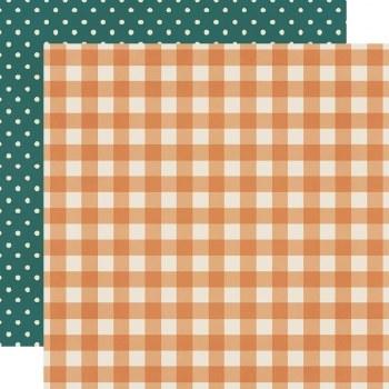 Fall Farmhouse 12x12 Paper- Pumpkin Spice
